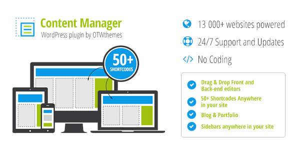 Content Manager WordPress Plugin