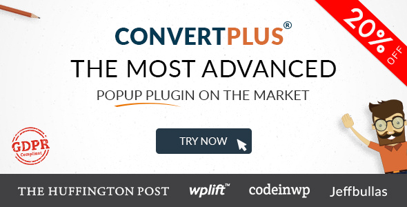 ConvertPlus 3.4.0 - Popup Plugin For WordPress
