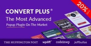ConvertPlus 3.4.5 (Nulled) - Popup Plugin For WordPress