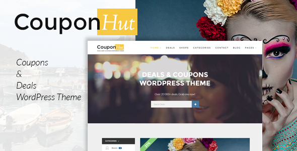 CouponHut 2.9.7 - Coupons & Deals WordPress Theme