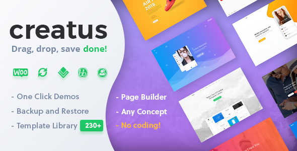 Creatus 1.1.2 - Ultimate Multipurpose WordPress Theme