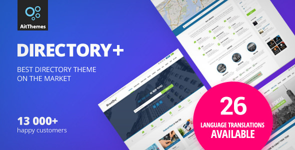 Directory 2.55 - WordPress Theme