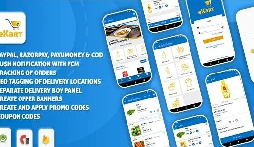 eKart-Android-e-commerce-app-Nulled-Download