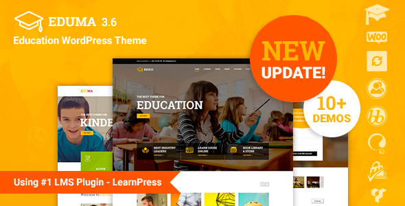 Education 3.6.3 - Education WordPress Theme