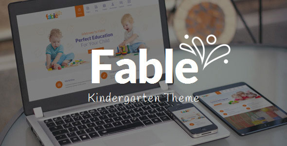 Fable 3.1 - Children Kindergarten WordPress Theme