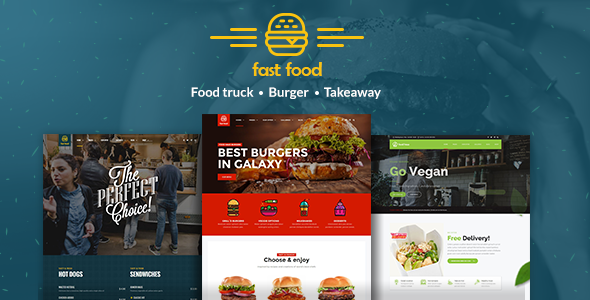 Fast Food 1.0.6 - WordPress Fast Food Theme