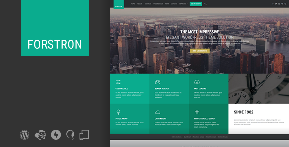 Forstron Legal Business WordPress Theme