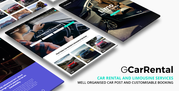 Grand Car Rental 2.3.1 - Limousine Car Rental WordPress