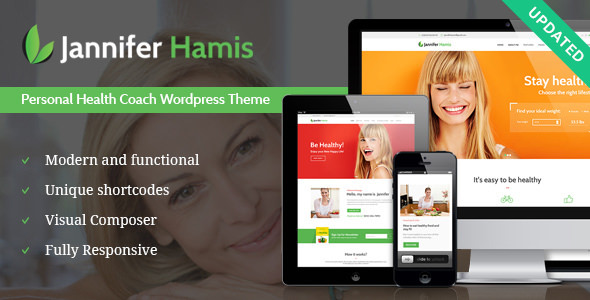 Health Coach 1.1 - Blog & Lifestyle Magazine WordPress Theme