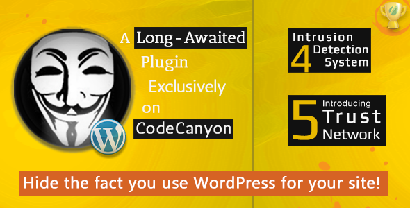 Hide My WP 5.6 - Amazing Security Plugin for WordPress