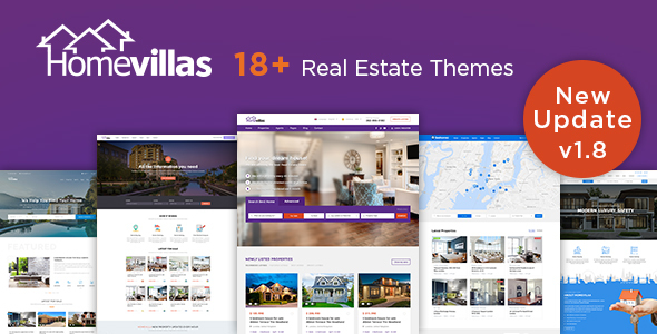 Home Villas 1.8 - Real Estate WordPress Theme