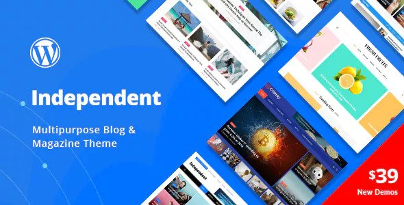 Independent 1.0.4 - Multipurpose Blog & Magazine Theme