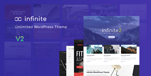 Infinite 2.1.2 - Responsive Multi-Purpose WordPress Theme