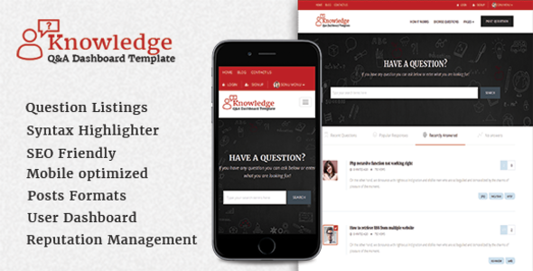 InfoCenter Knowledge Base and Q/A WordPress Theme