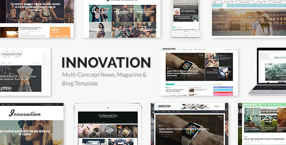 Innovation 5.3 - Multi-Concept News, Magazine & Blog Template