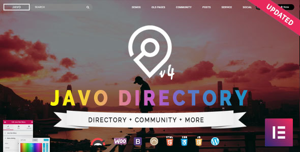 Javo Directory 4.0.8 - WordPress Theme