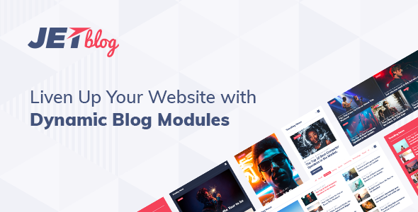 JetBlog 2.1.9 - Blogging Package for Elementor Page Builder