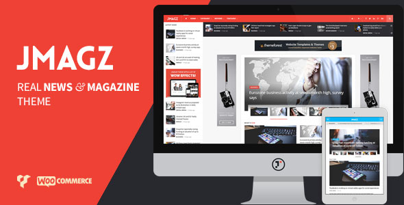 JMagz 1.4 - Tech News Review Magazine WordPress Theme