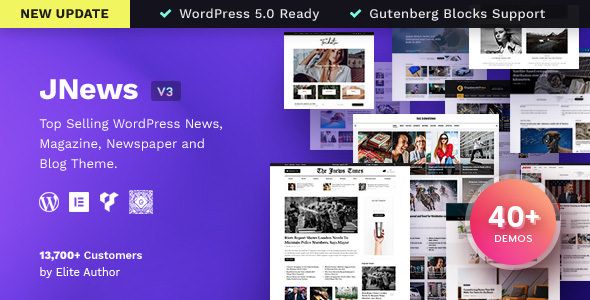 JNews 3.1.2 - Newspaper Magazine Blog AMP WordPress Theme