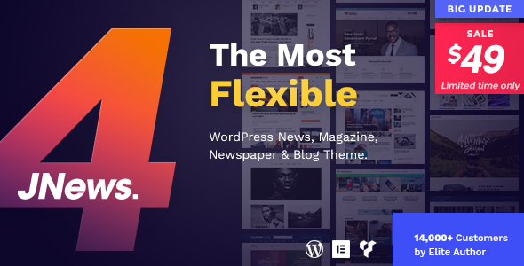 JNews 4.0 - Newspaper Magazine Blog AMP WordPress Theme