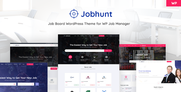 Jobhunt 1.1.6 - Job Board WordPress theme for WP Job Manager