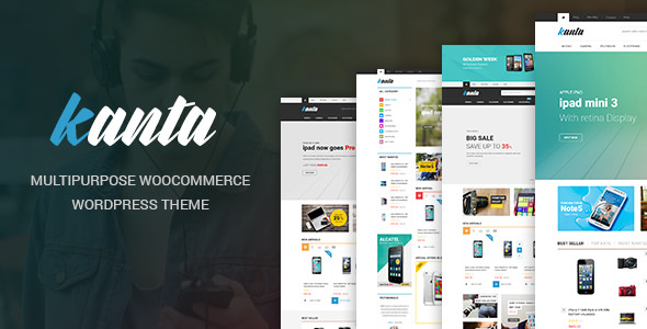 Kanta 2.0 - Multipurpose WooCommerce WordPress Theme