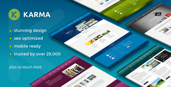 Karma v4.9.8 - Responsive WordPress Theme