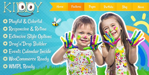 Kiddy 1.1.9 - Children WordPress theme