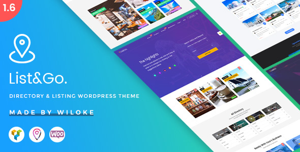 ListGo 1.8.5 Directory WordPress Theme
