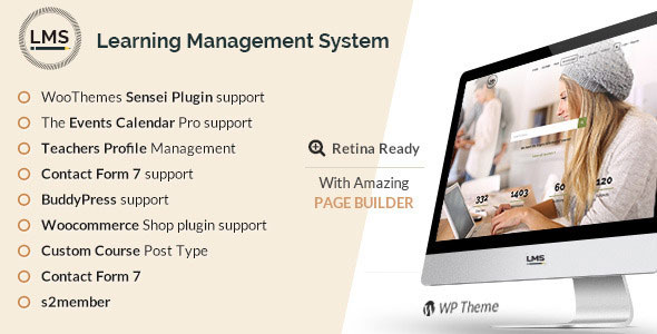 LMS Responsive Learning Management System