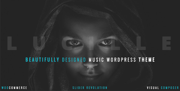 Lucille 2.0.9.3 - Music WordPress Theme