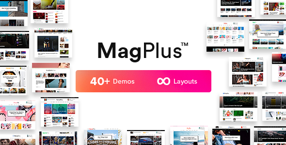MagPlus 2.9 - Blog & Magazine WordPress Theme