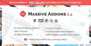 Massive Addons for WPBakery Page Builder 2.4.3