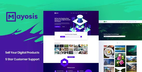Mayosis 2.5.2 - Digital Marketplace WordPress Theme