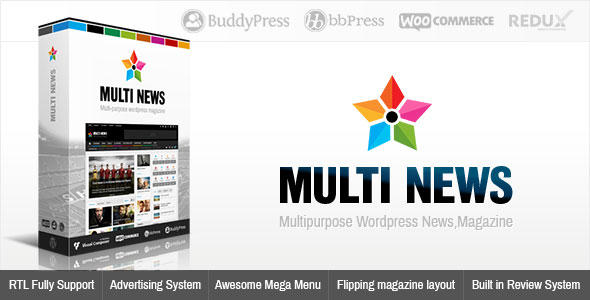 Multinews 2.6.4 - Multi-purpose WordPress News, Magazine
