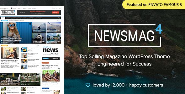Newsmag 4.6 - News Magazine Newspaper