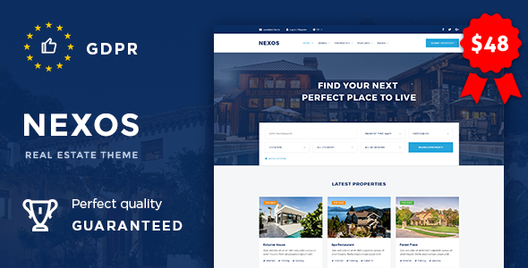 Nexos 1.2 - Real Estate Agency Directory