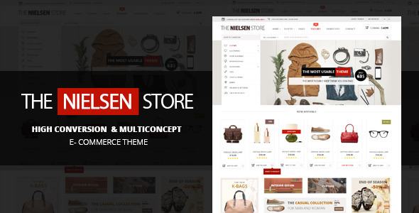 Nielsen E-commerce WordPress Theme