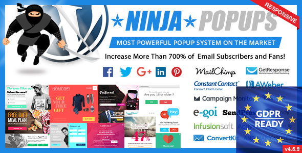 Ninja Popups 4.6.0 - Popup Plugin for WordPress