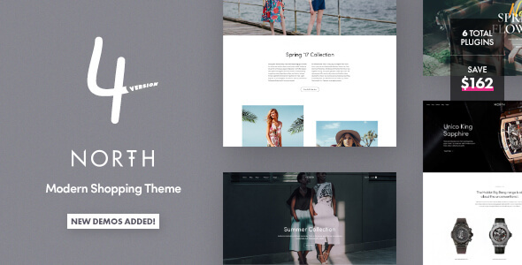 North 4.1.6 - Responsive WooCommerce Theme