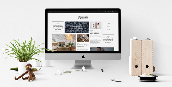 Norwalk - Responsive Magazine-Styled Blog Theme