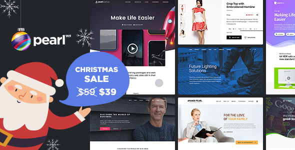 Pearl Business 2.9.1 - Corporate Business WordPress Theme