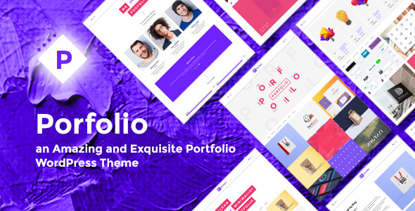 Porfolio WordPress Theme