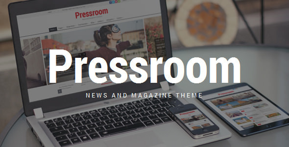 Pressroom 4.0 - News and Magazine WordPress Theme