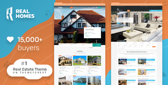 Real Homes 3.8.3 - WordPress Real Estate Theme