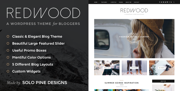 Redwood 1.6 - A Responsive WordPress Blog Theme
