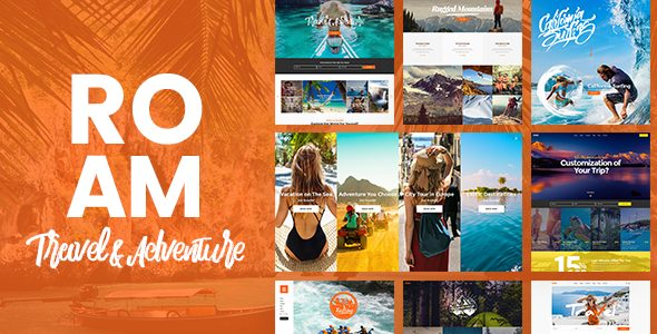 Roam 1.2 - Travel and Tourism WordPress Theme