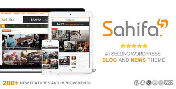 Sahifa 5.6.10 - Responsive WordPress News, Magazine, Blog Theme