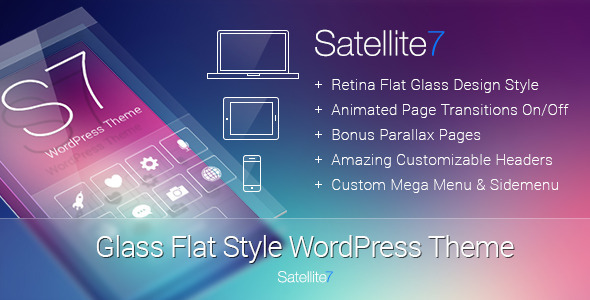 Satellite7 v3.0.2 - Retina Multi-Purpose WordPress Theme