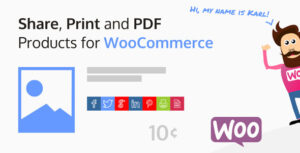 Share, Print and PDF Products for WooCommerce 2.1.3